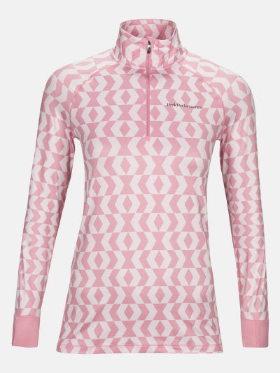 TERMO BIELIZEŇ PEAK PERFORMANCE W SPIRIT HALF ZIP PRINTED