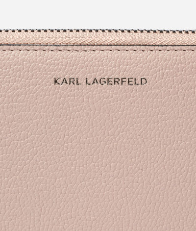 PEN?ŽENKA KARL LAGERFELD K/VEKTOR MEDIUM ZIP WALLET