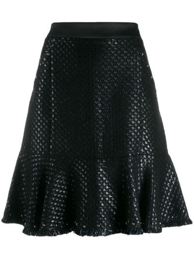 SUKŇA KARL LAGERFELD KARL'S TREASURE BOUCLE SKIRT