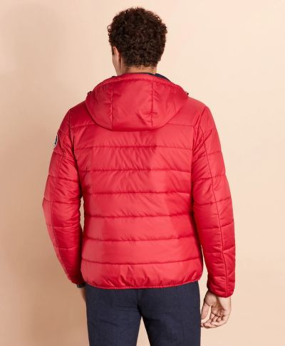 BUNDA BROOKS BROTHERS QUILTED HOODED PUFFER JACKET