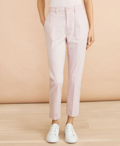 NOHAVICE BROOKS BROTHERS CBT CTNSTRETCH CRADLE PINK