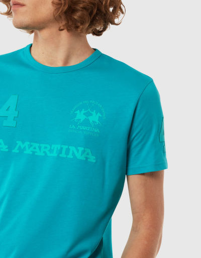 TRI?KO LA MARTINA MAN COTTON JERSEY T-SHIRT