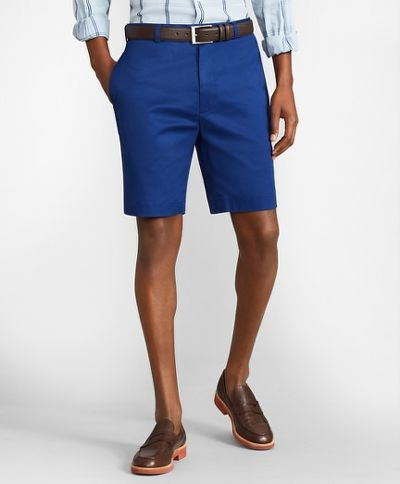 ŠORTKY BROOKS BROTHERS CBT LW ADV STRETCH SHORT PLAIN FRONT BLDEPTHS