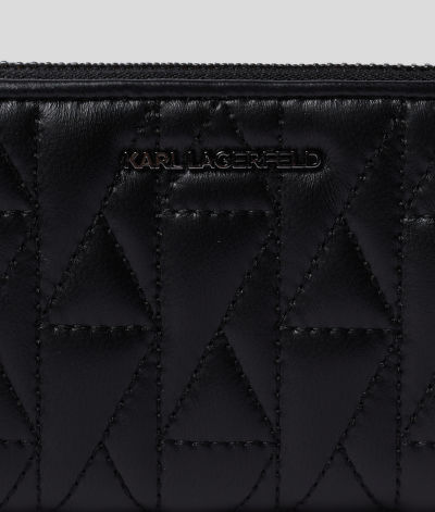 PEN?ŽENKA KARL LAGERFELD K/STUDIO SMALL ZIP WALLET