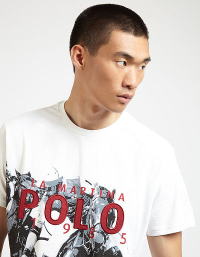 TRI?KO LA MARTINA MAN S/S T-SHIRT COTTON JERSEY