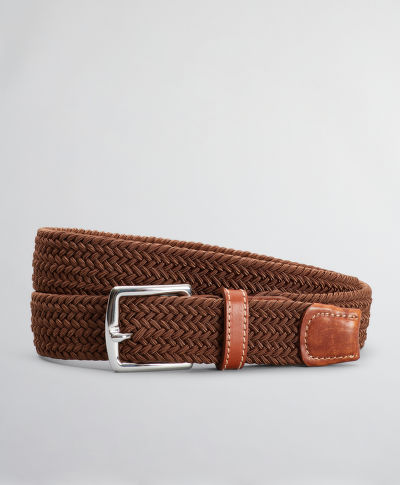OPASOK BROOKS BROTHERS ACC ML BELT WOVEN DACHSHUND