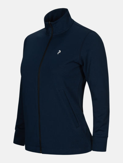 MIKINA PEAK PERFORMANCE W TURF ZIP