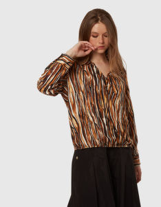 KOŠEĽA LA MARTINA WOMAN PRINTED TWILL SHIRT