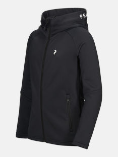 MIKINA PEAK PERFORMANCE JR RIDER ZIP HOOD