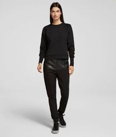 MIKINA KARL LAGERFELD VOLUME SLEEVES SWEATSHIRT