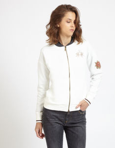 MIKINA LA MARTINA WOMAN FLEECE FULL ZIP