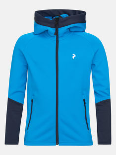 MIKINA PEAK PERFORMANCE JUNIOR RIDER ZIP HOOD