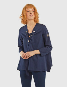 KOŠEĽA LA MARTINA WOMAN COTTON POPELINE BLOUSE