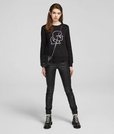 MIKINA KARL LAGERFELD KARL LIGHTING BOLT SWEATSHIRT