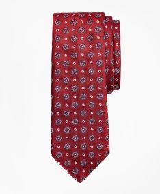 KRAVATA BROOKS BROTHERS FLOWER TIE