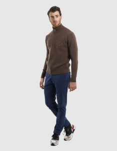 SVETER LA MARTINA MAN TRICOT FULL ZIP LAMB GG5