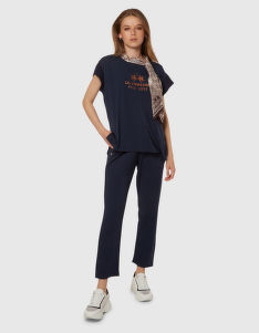TRIČKO LA MARTINA WOMAN VISCOSE JERSEY T-SHIRT