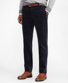 NOHAVICE BROOKS BROTHERS MILANO FIT WIDE WALE STRETCH CORDUROYS