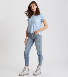 DŽÍNSY ODD MOLLY GROUPIE CROPPED JEAN