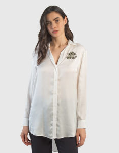 KOŠEĽA LA MARTINA WOMAN VISCOSE SATIN SHIRT L/S