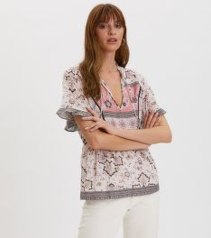 BLÚZKA ODD MOLLY BOHEMIC S/L BLOUSE