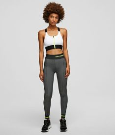 TOP KARL LAGERFELD SEAMLESS SPORTS BRAW/ LOGO