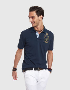 POLOKOŠEĽA LA MARTINA MAN POLO SHORT SLEEVES PIQUET