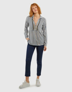 KOŠEĽA LA MARTINA WOMAN STRIPE BLOUSE