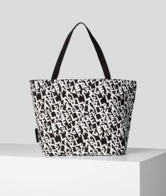 KABELKA KARL LAGERFELD K/GRAFFITI CANVAS SHOPPER