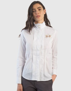 KOŠEĽA LA MARTINA WOMAN COTTON POPLIN SHIRT L/S