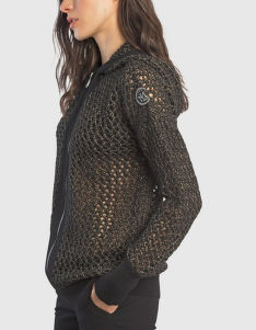 SVETER LA MARTINA WOMAN TRICOT FULL ZIP GG3