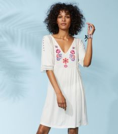 ŠATY ODD MOLLY FLOWER CREST BEACH DRESS