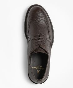 POLTOPÁNKY BROOKS BROTHERS 1818 FOOTWEAR SUEDE WINGTIPS