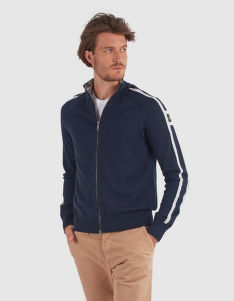 SVETER LA MARTINA MAN TRICOT FULL ZIP GG.10 LAMB