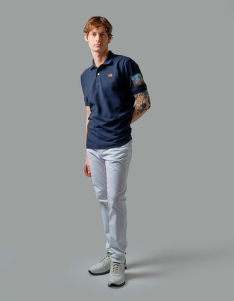 POLOKOŠEĽA LA MARTINA MAN POLO SHORT SLEEVES SLUB PI