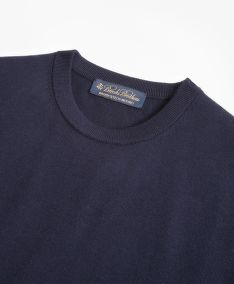 SVETER BROOKS BROTHERS BROOKSTECH MERINO WOOL CREWNECK SWEATER