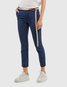 NOHAVICE LA MARTINA WOMAN LUREX DENIM PANT