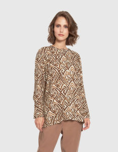 BLÚZKA LA MARTINA WOMAN SHIRT L/S TWILL