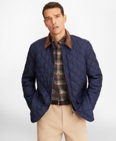 BUNDA BROOKS BROTHERS OUT ML QUILTED JACKET MOOD INDIGO