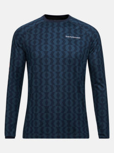 TERMO BIELIZEŇ PEAK PERFORMANCE M SPIRIT PRINTED CREW