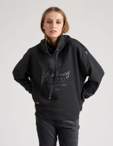 MIKINA LA MARTINA WOMAN FLEECE LUREX FLEECE