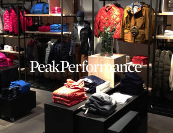 PEAK PERFORMANCE Store BB Europa